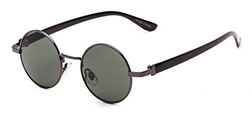 Sunglass Warehouse | The Rounder Sunglasses - Round - Metal & Plastic Frame - Men & - Warehouse Sunglasses