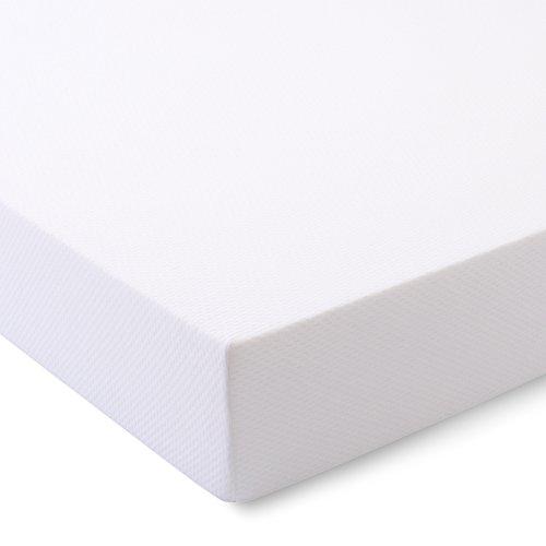 Serenia Sleep 10 Gel Comfort Foam Mattress, Made in USA, Queen, White Off White