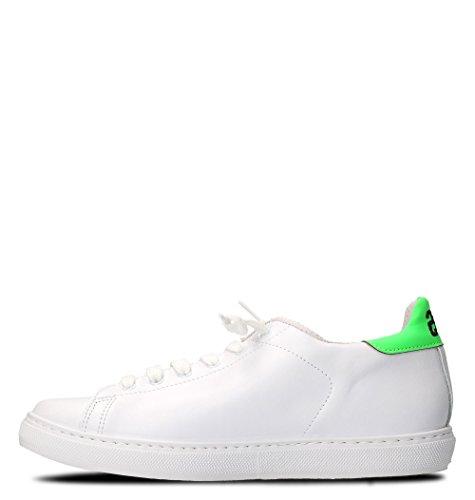 2Star Sneakers Uomo 2SU1892 Pelle Bianco