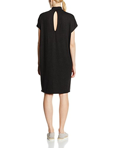 Only Onlmoster Turtleneck S/L Dress Jrs, Vestido para Mujer negro