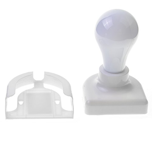 Toyofmine Battery Operated White Cool To Touch Control Handy No wires As Seen on TV NEW 2 Pack