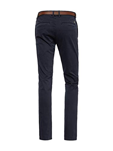 Blue Chino Casic Uomo Tailor Blu Muster Mit Captain sky Tom 10668 Leichtem Pantaloni wPBqE56