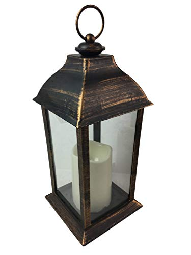 Cappy's Cool Crafts LED Candle Lantern for Gardens, Yards, or Centerpiece Decoration ()