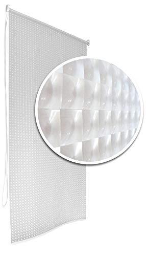 3D Bathroom Shower Curtain Roller Blind Extra Long 4 Width Sizes