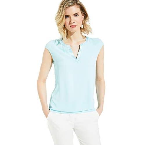 Top Damen T-Shirt Tüllrock Gummibund Falten Rock Unregelmäßiger Rock chic kleid