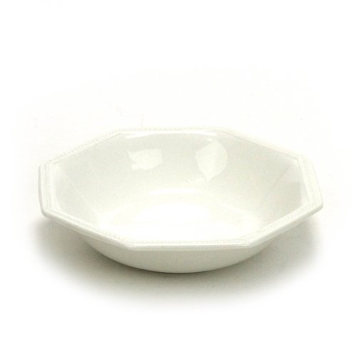 Heritage, White by Johnson Brothers, Ironstone Fruit Bowl, Individual ()