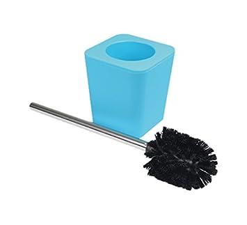 Douceur dInt/érieur Cepillo de ba/ño Interior Suavemente 6ASB228BL Efecto Soft Touch Blue Ocean 11.5 x 11.5 x 38.5 cm