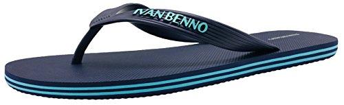 Flip Tong Sandals Beach Slipper Athletic Men's Finoceans Flops Comfort Navy Shoes 6wOCBWxq