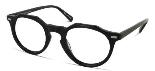 Benji Frank Hayes Round Nerdy Black Eyeglasses 70s Mens Womens Eyewear - Glasses Frank