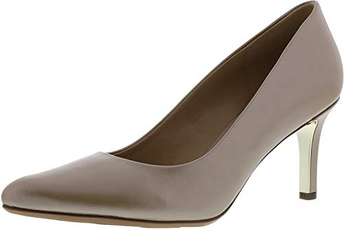 Naturalizer Women's Natalie Leather Gingersnap Ankle-High Pump - 8M ()