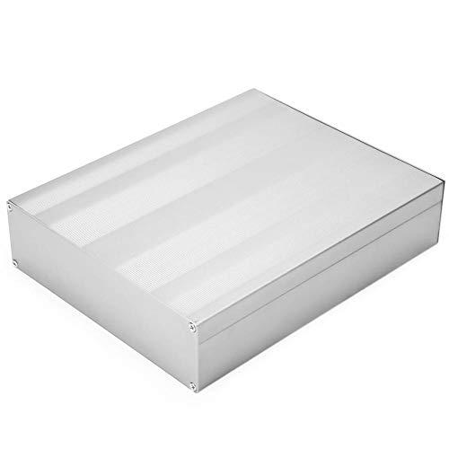 サンドブラストのプリント基板の器械のアルミニウム箱の同じ高さの台紙の端子箱のエンクロージャの電子プロジェクトの箱