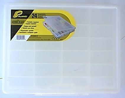 Plano Molding 5324 Portable Organizer 24-Fixed Compartments by Plano Molding