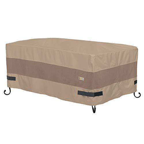 Duck Covers Elegant Rectangular Fire Pit Cover, 56