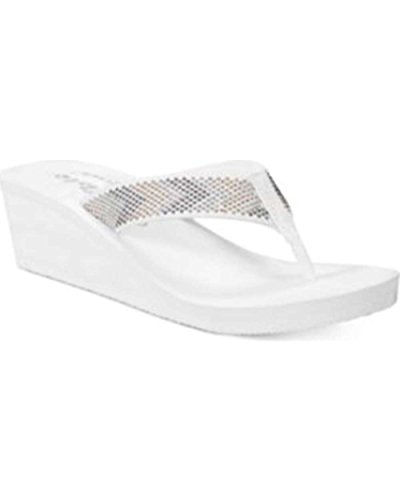 Casual Womens Callisto Sandals White Open Open Toe Womens Slide Jester Callisto Jester Casual Toe nqwvqxSAY