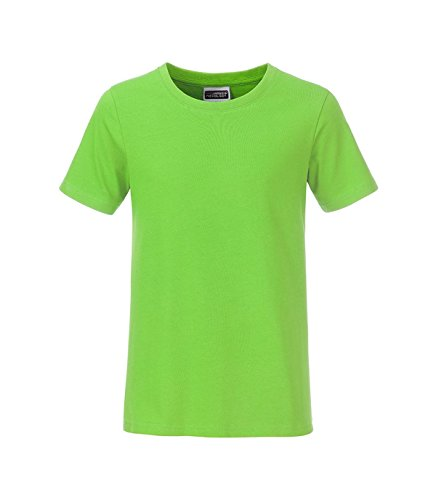 T Fit shirt Lime uomo Classic green casual da bio qqfYr