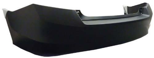 REAR BUMPER COVER - FITS HONDA ACCORD 2008 SEDAN 4 CYLINDER 1H. EXHAUST NEW