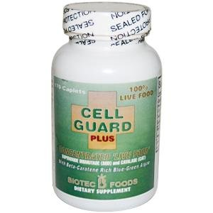 Biotech Cell Guard Plus Concentrated Live Food Antioxidant Enzymes 170 Caplets Discount