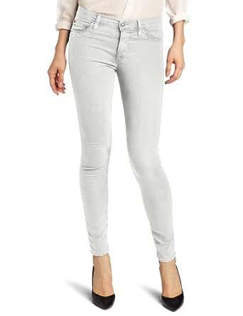 Hudson Jeans Women's Nico Midrise Super Skinny 5-Pocket Jean In Colors, Seafoam, 24