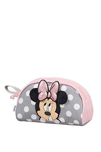 (SAMSONITE Disney Ultimate 2.0 - Pouch Toiletry Bag, 23 cm, 2.5 liters, Multicolour (Minnie Glitter))