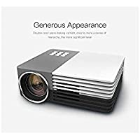 Bestcrew® Mini Multimedia Portable LCD LED Video Game HOME Cinema Theater Movie Projector For Party,Halloween,xmas Pocket Size with FREE STAND Support Outdoor Camping Mobile Projector with HDMI,VAG,USB 2.0, AV, SD