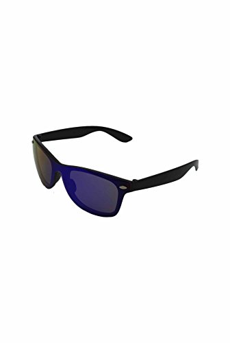 Finecy unique Homme Lunettes frame Mirrored soleil Black de Lens In taille with Blue rxrqTwU4p