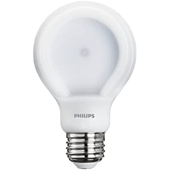 Philips 433235 60 Watt Equivalent SlimStyle A19 LED Light Bulb Daylight, Dimmable