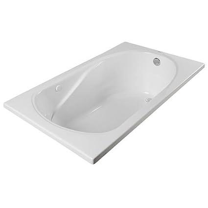 Exceptionnel ProFlo PFS6032A 60u0026quot; X 32u0026quot; Drop In Soaking Bath Tub ...