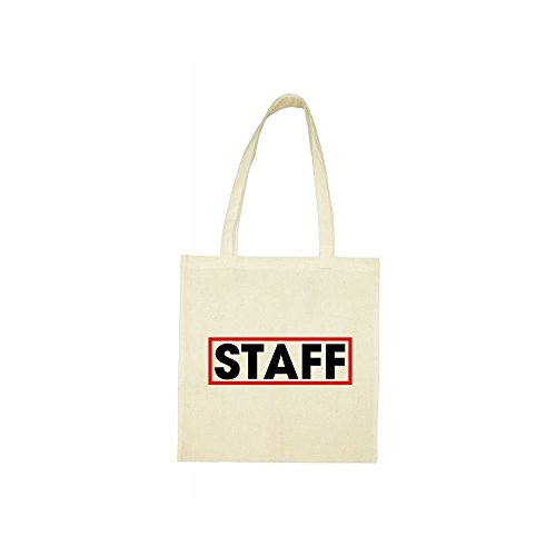 bag beige Tote beige Tote staff bag beige Tote staff bag PW80RZYwq