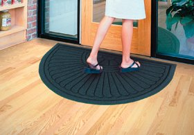 Alimed Waterhog Grand Premier Entrance Mats (Half Oval 1-End 6X11.6 PINE)