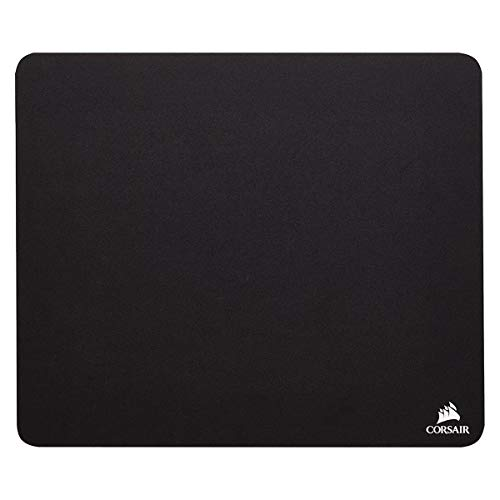 CORSAIR CH-9100020-WW - Cloth Mouse Pad - High-Performance Mouse Pad Optimized for Gaming Sensors - Designed for Maximum Control,Black,Medium