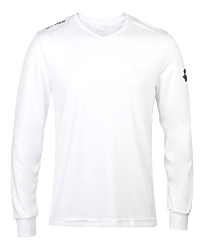 Lotto Mens Lt035 Jersey Long Sleeve Team Evo White M