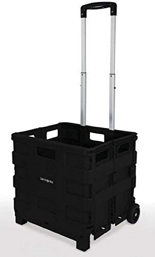 Inspired Living by Mesa Rolling utility-carts, Large, BLACK