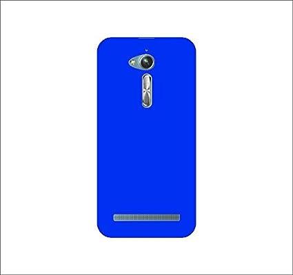 timeless design de047 f2a5c JMD Slim Matte Finish Rubberized Blue Hard Back Case: Amazon.in ...