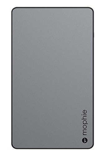 mophie powerstation External Battery for Universal Smartphones and Tablets (6,000mAh) - Space Grey (Renewed)