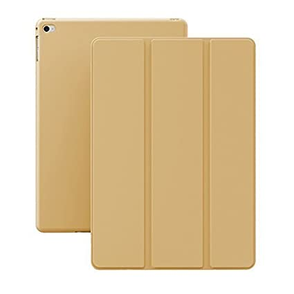 2c3a90b077ac Image Unavailable. Image not available for. Color  KHOMO iPad Mini 4 Case - Dual  Series - Ultra Slim Gold Cover with Auto Sleep