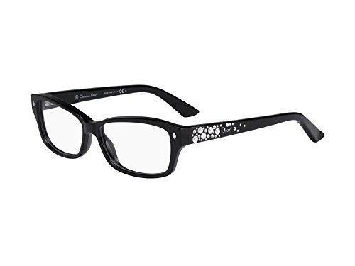 DIOR Eyeglasses 3259 0BWH Black Pear White 52MM