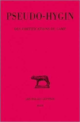 livre pdf gratuit télécharger Des fortifications du camp