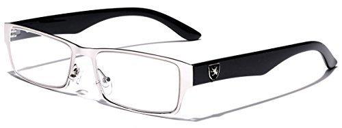 Men's Women's Rectangle Clear Lens Sunglasses RX Optical Eye Glasses
