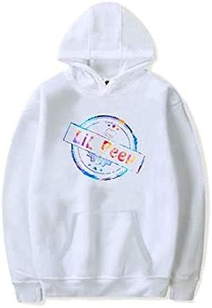 Rapper Lil Peep White Fashion Cotton Sweater Hoodie-S