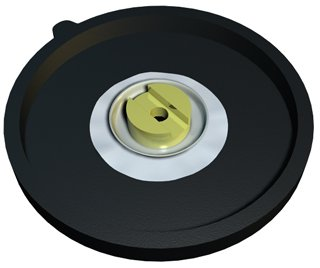 Replacement Diaphragm - For Dual Diaphragm Air Pump For GH2716 - General Hydroponics GH92713