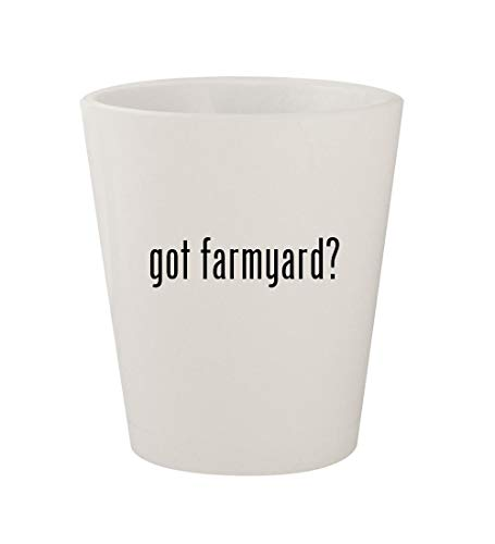 - got farmyard? - Ceramic White 1.5oz Shot Glass