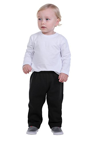 Pulla Bulla Baby Boy Sweatpants Fleece Jogger Pants 3-6 Months (Baby Fleece Pant)