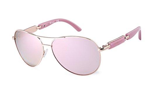 moda de de con ojo sol gafas de polarizadas Sol color Gafas de UV400 protección de cristal gris espejo Gafas mujer gato de de cristal sol estilo mariposa Gafas g45PH6