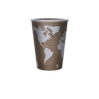 Eco-Products EP-BSC32-WA 32 oz World Art Soup Cup Container (Case of 500)