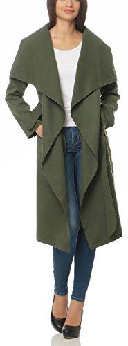 Malito avec Long Bol Design Manteau Enrouler Cascade Gilet Veste HnpWHBRr6