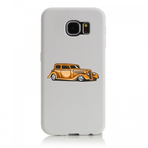 """Smartphone Case Apple IPhone 7 """"hot Rod Sportwagen Oldtimer Young Timer Shellby Cobra GT Muscel Car America Motiv 9753"""" Spass- Kult- Motiv Geschenkidee Ostern Weihnachten"""