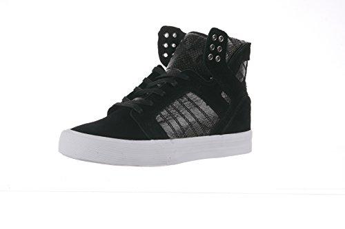 Supra Skytop Wedge, Sneaker donna Nero nero/bianco