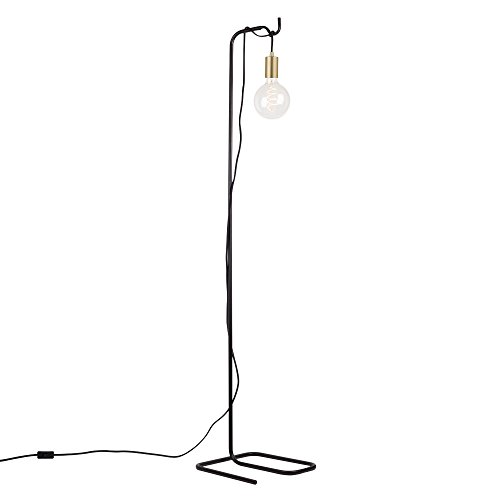 Globe Electric 69973 Designer Series Floor Lamp, Brass