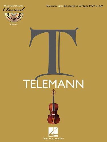 Viola Concerto in G Major, TWV 51:G9: Classical Play-Along Volume 8
