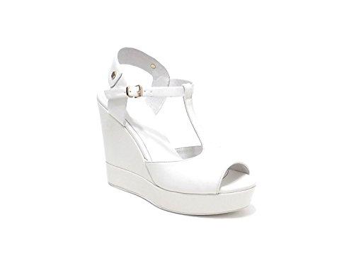 Luna - Sandalias de vestir para mujer Blanco blanco